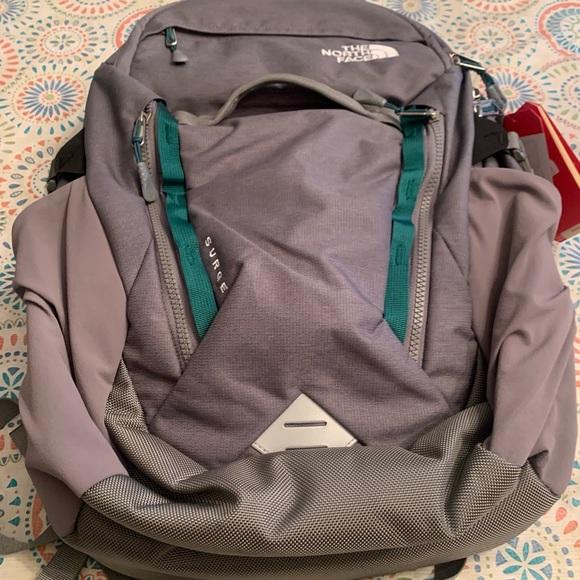 NWT Northface surge backpack